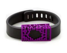 purple lucas slide for Fitbit Flex