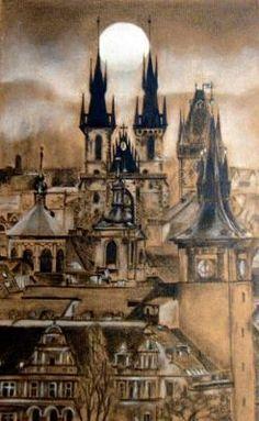 A Drawing Of Prague