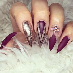 awesome 20 Worth Trying Long Stiletto Nails Designs - Stylendesigns.com!