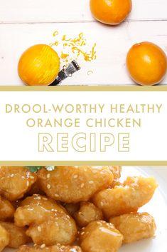 The Most Delicious Healthy Orange Chicken Recipe   DanetteMay