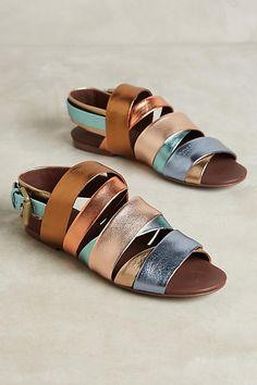 Nappa Laminata Sandals, affiliate link