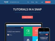 Iorad - Product Landing Page by Roy Barber