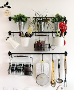 For our cozy studio on pinterest fire escape portable - Protection mur cuisine ikea ...