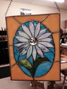 Rose Glass Creations custom daisy.