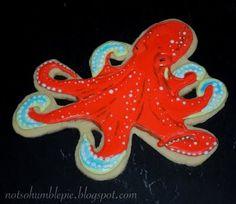 octopus cookies by alissa nicole, via Flickr