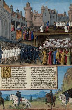 Passages d'outremer - Richard Coeur de Lion massacrant les prisonniers musulmans