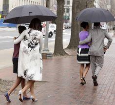 easter stroll - obama family
