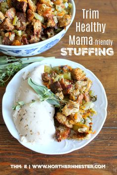 Do you know what's better than stuffing that comes from a box? This Trim Healthy Mama stuffing that's free from sugar and full of energizing carbohydrates!