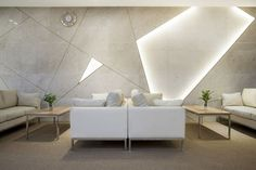 Modern And Cozy Office Interior Design Ideas To Makes You Feel Comfortable – Decorating Ideas - Home Decor Ideas and Tips - Page 97 Salon Interior Design, Interior Walls, Home Interior, Modern Interior, Interior Architecture, Interior Ideas, Lobby Design, Coperate Design, House Design