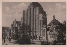 Hannover - Hochhaus mit Planetarium - ca. 1940
