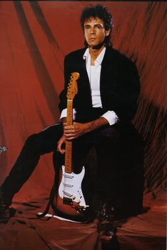 Rick Springfield Photo: From the 1984 tourbook. Throwback Music, Rick Springfield, Upcoming Concerts, Music Icon, General Hospital, Buy Tickets, My Favorite Music, Music Is Life, Gorgeous Men