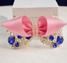 Handmade hairpin hair accessory hair maker hair accessory decorated home clip spring clip blue * You can get additional details at the image link.