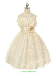 Ivory Flower Girl Dresses   Flower Girl Dresses, Communion Dresses, Pageant Dresses - Ivory ...