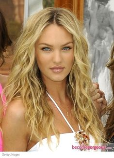 Candice Swanepoel - beachy waves