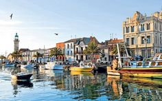 The best unsung family beach holiday resorts in Europe: Le Grau-du-Roi, in the south of France, with information on booking accommodation, transport, and where to eat Places In Europe, Oh The Places You'll Go, Places To Travel, Places To Visit, Seaside Holidays, Beach Holiday, Strand Resort, Destinations, Languedoc Roussillon