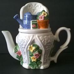 Decorative Garden Teapot World Bazaars INC | eBay