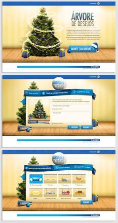 Landing page - Monte sua árvore