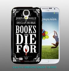 Books To Die For UK  , For Samsung S4 i9500 Black Case