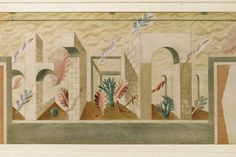 Eric Ravilious: Design for mural at Colwyn Bay Pier Pavilion, 1934