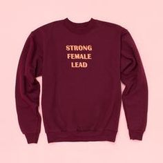 - Description - WHAT'S MY SIZE? what do you get when you combine bridesmaids with ghostbusters...? you get a whole lotta strong female leads, that's what! this sweatshirt by realm is a shoutout to all