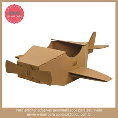 Avião de Papelão - BBDU