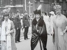 Queen Alexandra, the Empress Marie Feodorovna, and Queen Mary