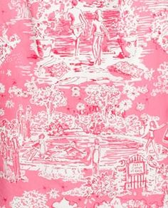Lilly Pulitzer Skinny Dippin Toile