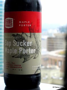 Sap Sucker Maple Porter Beer Pictures, Suckers, Bottle, Drinks, Flask, Drink, Beverage, Drinking