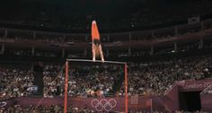 Epke Zonderland of the Netherlands won gold in the men's high bar. And he blew everyone's mind in the process.