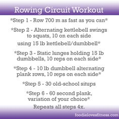 14 Incredible Rowing Machine Workouts To Lose Weight & Drop Fat! - 14 Incredible Rowing Machine Workouts To Lose Weight & Drop Fat! Rower Workout, Workout Pics, Workout Ideas, Bootcamp Ideas, Boxing Workout, Lifting Workouts, Gym Workouts, Weight Workouts, Workout Routines