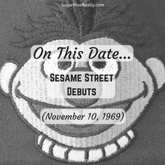 On This Date: Sesame Street Debuts (November North Face Logo, The North Face, On This Date, Friday Motivation, November, Dating, Street, Quotes, November Born