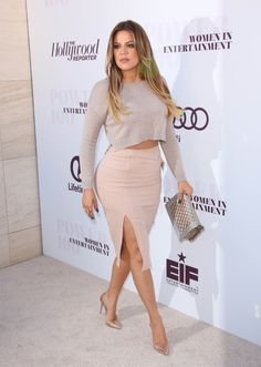 December 10, 2014 - Khloe Kardashian at The Women In Entertainment Breakfast in LA