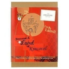 Make your dad a Laird Of Kincavel with this fun #FathersDay gift! #FathersDayGifts #Laird #Kincavel   £29.99