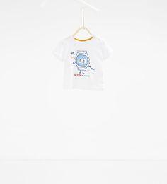 Image 1 of Watch T-shirt from Zara
