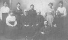 Jasper and Mary Jane MALLETT of Penryn with family. Distant cousins galore!