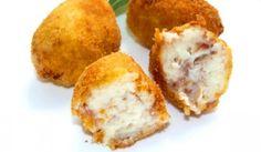 Croquetas de queso y nueces - Recetín