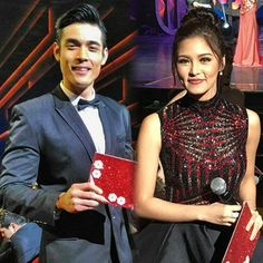 Gorgeous and Fabulous Couple ✨⭐ @chinitaprincess and @xianlimm as one of the hosts of 32nd PMPC Star Awards at the Resorts World Manila #KimXianHostStarAwards #KimXi #KimChiu #XianLim ©toforallthephotos
