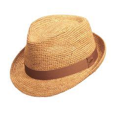 3ae99319 Scala™ Raffia Fedora - JCPenney. Mens Straw HatsHats For ...