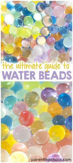 What an awesome Water Bead Resource!