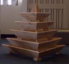 TrioLife 5 Level Pyramid Planter