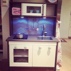 Ikea kinderküche verschönern  Ikea Kinderküche gehackt | Kinder | Pinterest | Ikea kinderküche ...