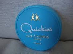 Quickies Face Cleansing Pads - I wish these were still available. I remember going to Woolies on a Saturday with my pocket money and buying these. 1970s Childhood, My Childhood Memories, Family Memories, Those Were The Days, The Good Old Days, Retro, Teenage Years, Do You Remember, My Memory
