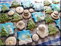 Las cookies de Invierno: del regalo de Desde el Corazón Verdadero!