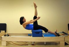 Pilates Reformer Exercise - Climb a Tree: Intro to Climb a Tree Exercise on the Pilates Reformer