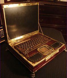 Datamancer's #Steampunk Laptop