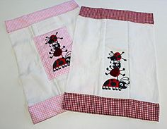 Free project instructions to make an embroidered burp cloth.