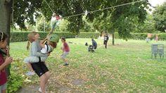 Slackline & Zipline a Redrock nyári táborában