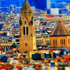 Eglise Saint-Pierre-de-Chaillot Chaillot, Tilt, Empire State Building, Notre Dame, Instagram Posts, Travel, Viajes, Trips, Traveling