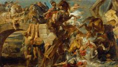 The Defeat and Death of Maxentius - Rubens, c. 1622