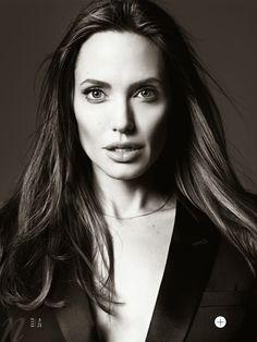 ☆ Angelina Jolie | Photography by Hedi Slimane | For Elle Magazine US | June 2014 ☆ #Angelina_Jolie #Hedi_Slimane #Elle #2014